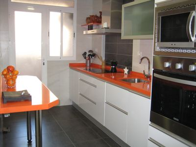 Apartment well equipped, spacious with 3 bedrooms