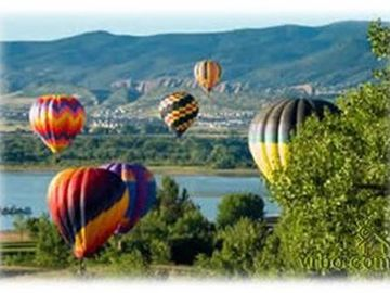 5 minutes to Hot Air Balloon Ride/Wine Train Ride