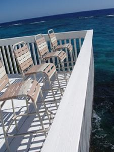 Sit and enjoy the ocean views.