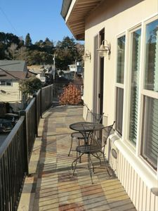 Aptos house rental - Balcony to the Right of the Door