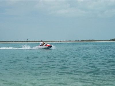 One of the many water sports available for you to enjoy.