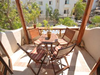 Playa del Carmen condo photo - Patio with seating for 4.