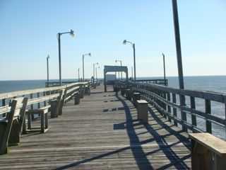 Oak Island cottage photo - OKI pier
