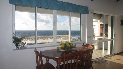 Sao Miguel Island cottage rental - Dining with ocean view