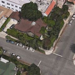 Hollywood house photo - Aerial view