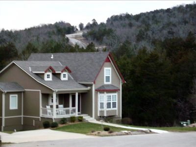 Branson cottage rental - Nestled into Nature, alongside a creek our 5 bed/4 bath Home Away from Home