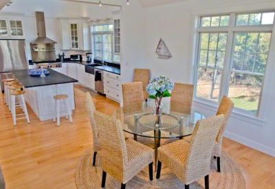 Katama house rental - Gourmet Kitchen Anchors The Other End Of The Great Room