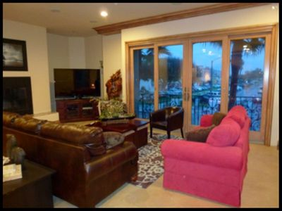 Family Room, 65' 3D TV,  2nd Floor