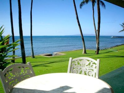 Lanai ~ Private front yard