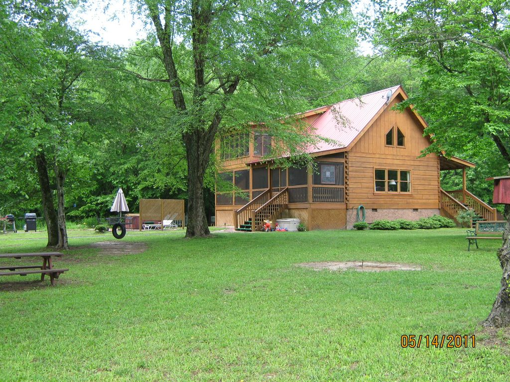 With 320 feet on toccoa river 4 miles below vrbo for 8 bedroom cabins in blue ridge ga