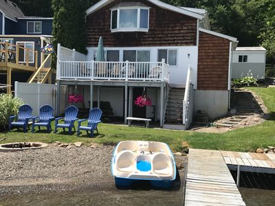 Reed and Relax on Conesus Lake. This 3 bedroom cottage that sleeps 8.
