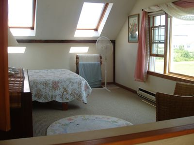 Chatham house rental - Master Bedroom-ocean view