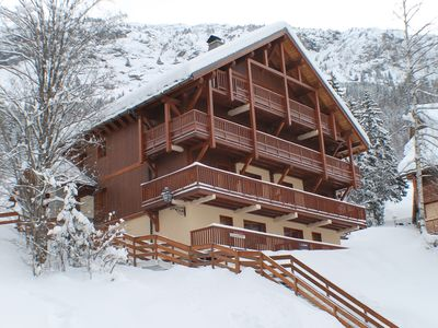 Apartment 8 pers - ski-in, ski-out.