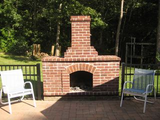 East Sandwich house photo - Outdoor Fireplace - Smores!