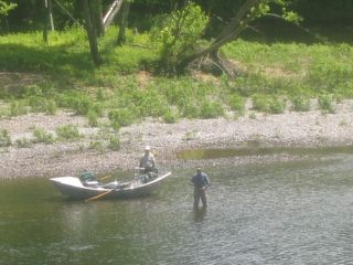 Branson condo photo - Fly-fishing as seen from screened in porch.