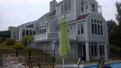 overlooking the sea and heated inground pool.  You'll want to revisit each year.