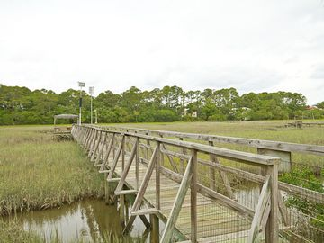 Tybee Island cottage rental - Private 175 foot dock! Perfect for birdwatching, fishing, crabbing, & sunsets!