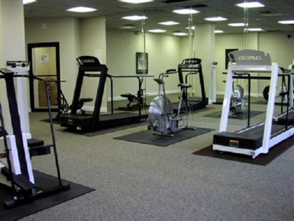 Fitness Room-you are sure to find something that meets the level of your program