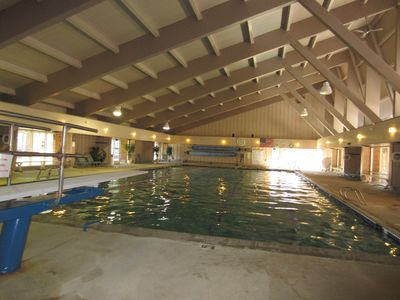 Homeowners Association heated indoor pool and hot tubs available for a small fee