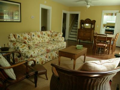 Another view of Great Room which is central to front porch, parlor, kitchen