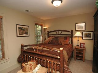 Cashiers estate photo - Upper Level Queen Bedroom & Bath
