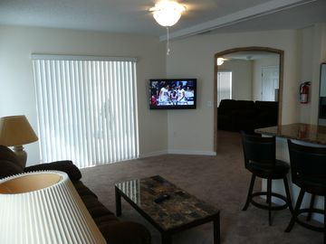 "Family Room with 37"" Flat Panel TV"