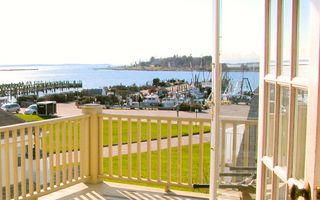 Stonington house photo - view from french doors
