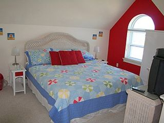 St George Island cottage photo - King Bed in Loft