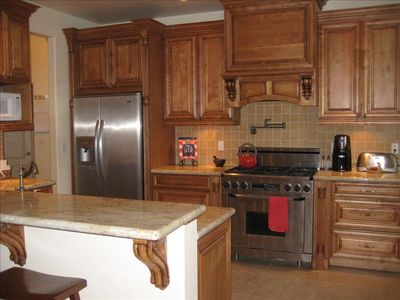 Gourmet Kitchen with Nook