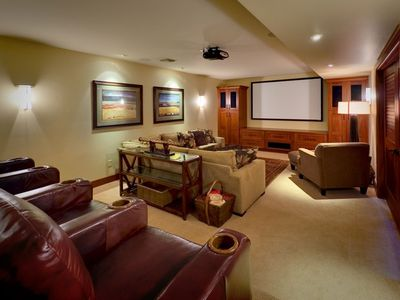 Theatre Room with seating for ten