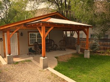 Durango house rental - Wild Horse Guesthouse Front Poorch