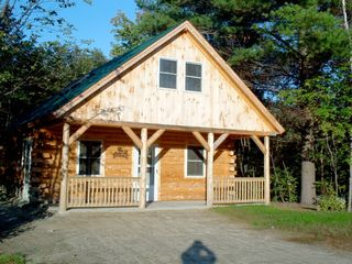 Bretton Woods cabin photo - Handcrafted log cabin