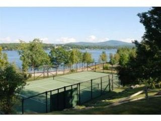 Laconia house photo - Tennis court overlooking Lake Winni