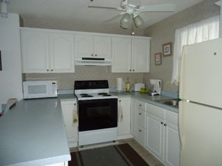 North Topsail Beach condo photo - Fully equipped kitchen