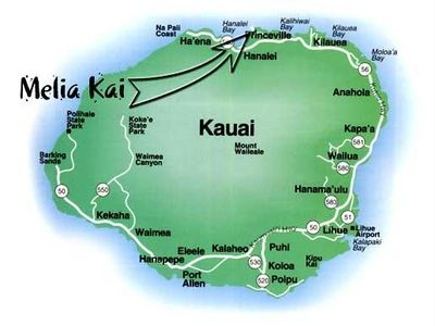 Melia Kai is located on the fabled north shore of Kauai