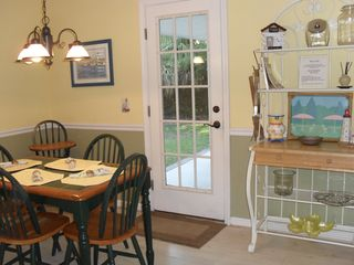 Tybee Island house photo - Breakfast area with matching highchair