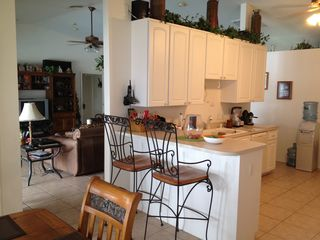 Cape Coral house photo - kitchen/dining area.