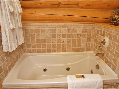 Jacuzzi Tub & Separate Shower in the Master Bath