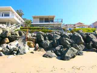 Stairs from Beach (tides permitting) - Santa Cruz house vacation rental photo