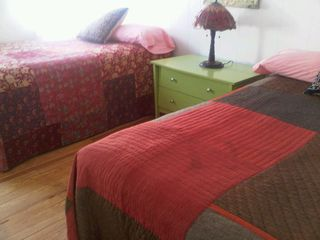 one of four bedrooms has 2 full-size beds - Peconic house vacation rental photo