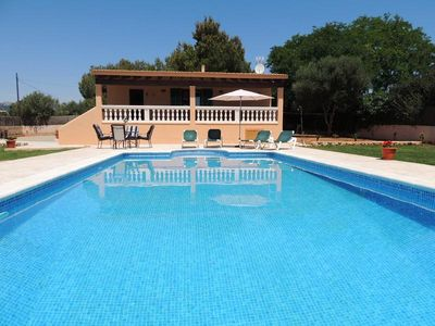 Newly Built Majorcan Style Country-Chalet With Private Pool and Green Garden