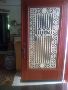 Door leading to outside