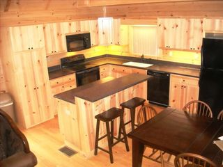 Mount Pocono cabin photo - Full Kitchen