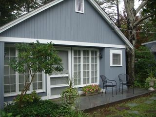 Rehoboth Beach cottage photo - Little Cottage overlooks a large, fenced yard.