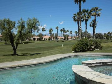Cathedral City villa rental - Private pool and spa on the Fairway overlooking the mountains