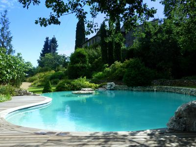 Provencal country home at the foot of the Cevennes
