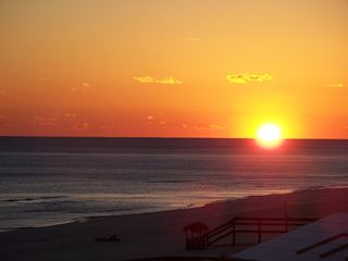 Perdido Key condo photo - Breathtaking Sunset from our Balcony!!