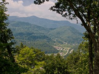 Maggie Valley house photo - View to the North into Tennessee