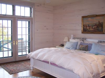 Harbor Springs chateau / country house rental - Master bedroom