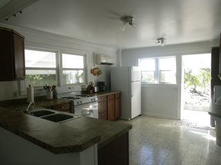 Compass Cay villa photo - Newly renovated kitchen at The Lodge